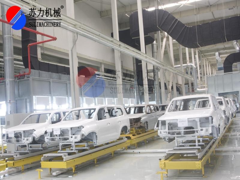 新能源汽车涂装生产线