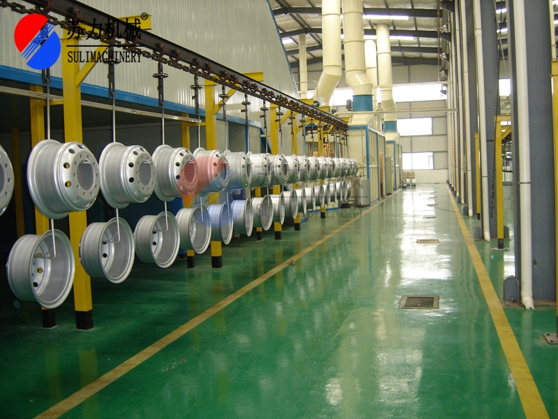 汽车钢圈涂装生产线