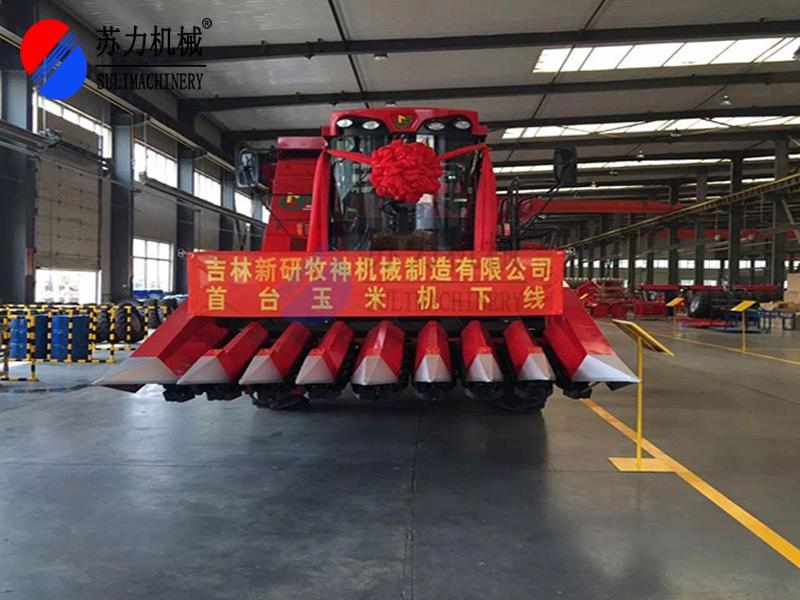 玉米收割机涂装生产线